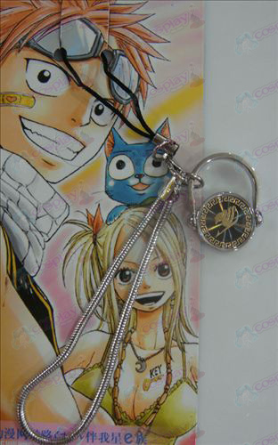 Black Steel Ring Strap Fairy Tail Zubehör Gold