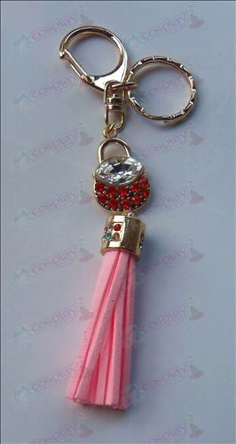 Fruits Basket Zubehör Red Diamond Keychain