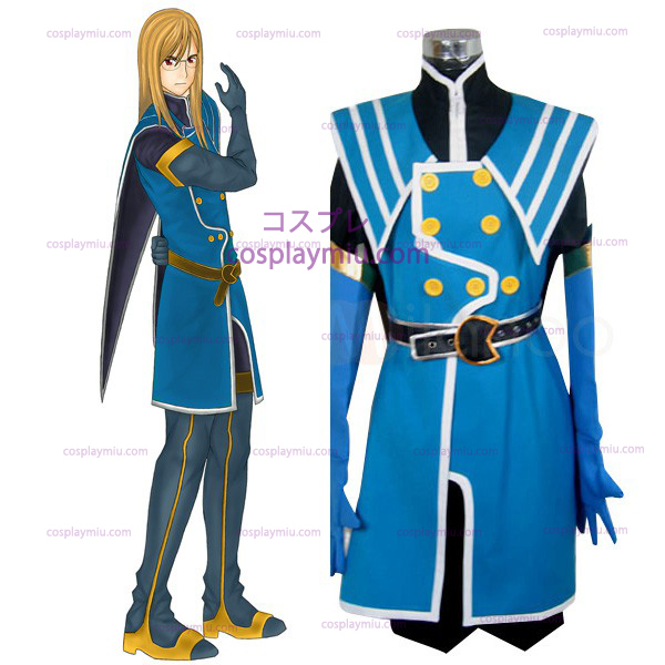 Tales of the Abyss Jade Curtiss Halloween Cosplay Kostüme