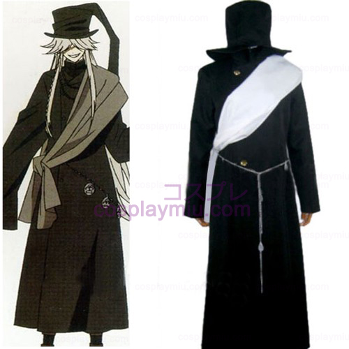 Black Butler Undertaker Halloween Cosplay Kostüme