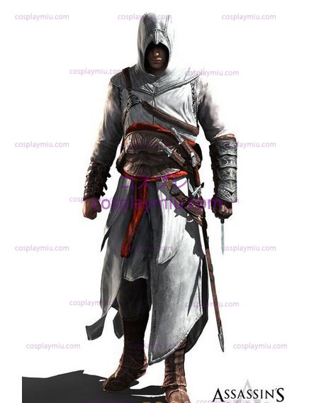 Assassin 's Creed II Ezio Cosplay White Edition