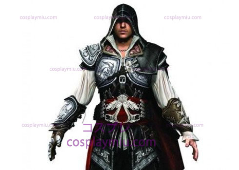 Assassin 's Creed II Ezio Cosplay Black Edition