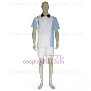 The Prince Of Tennis Hyotei Gakuen Light Blue and White Cosplay Kostüme