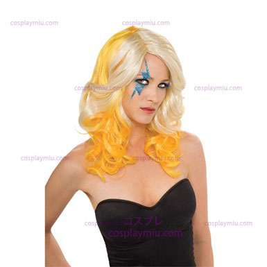 Lady Gaga Blonde And Yellow Perücke
