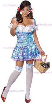 Secret Wishes Wizard Of Oz Sparkle Dorothy Adult Kostüme