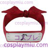 Naruto Ninja-Sound Dorf HeadBand Red