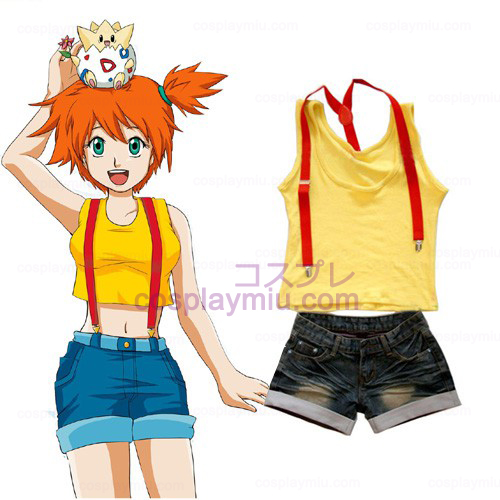 Pokemon Misty Frauen Cosplay Kostüme