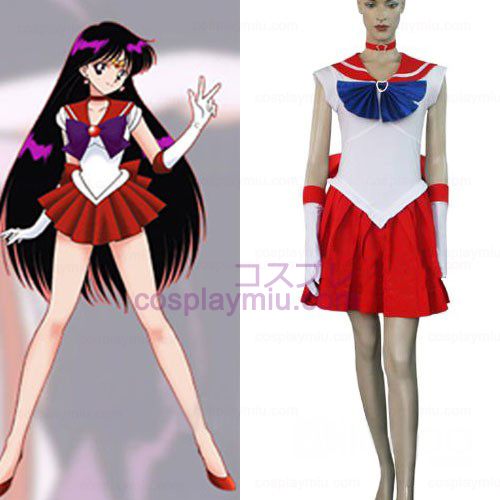 Sailor Moon Sailor Mars Raye Hino Halloween Cosplay Kostüme
