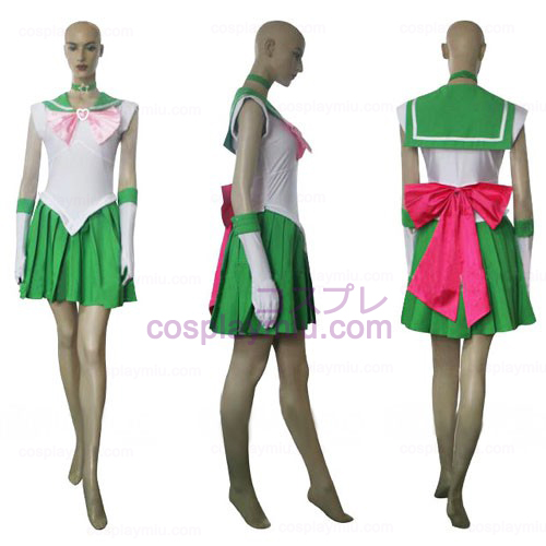 Sailor Moon Sailor Jupiter Makoto Kino Halloween Cosplay Kostüme