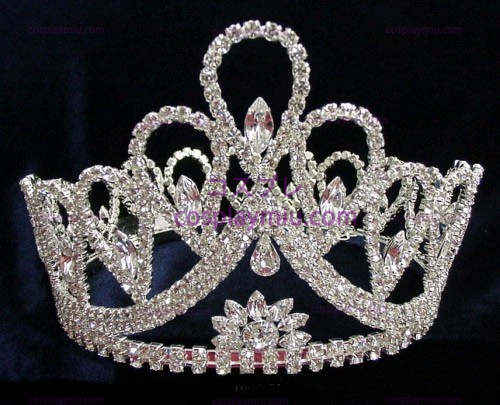 Strass Crown Silver-CT001