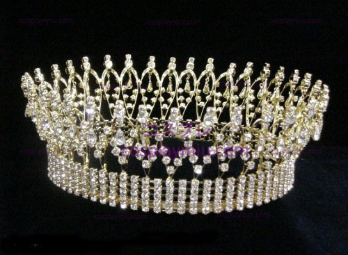 Strass Crown Silver-CT002