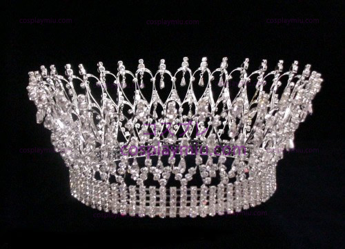 Strass Crown Silver-CT003