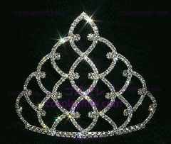 Traditionelle Strass Crown