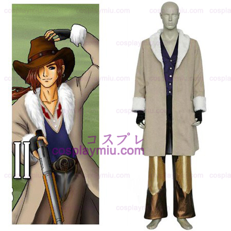 Final Fantasy VIII Irvine Kinneas Cosplay Kostüme
