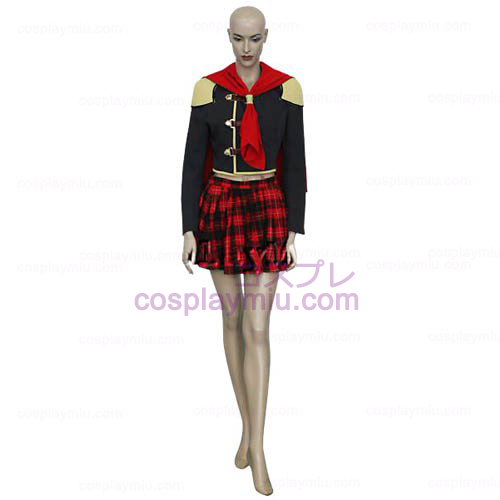 Final Fantasy XIII Agito Mädchen Uniform Cosplay Kostüme