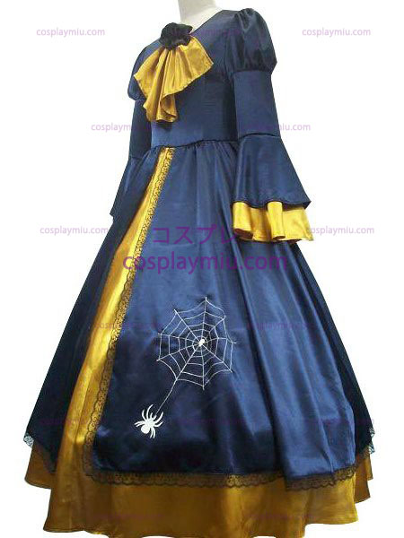 Vocaloid Kagamine Rin Blue And Yellow Cosplay Kostüme Kleid