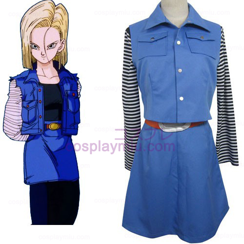 Dragon Ball Android 18 Cosplay Kostüme