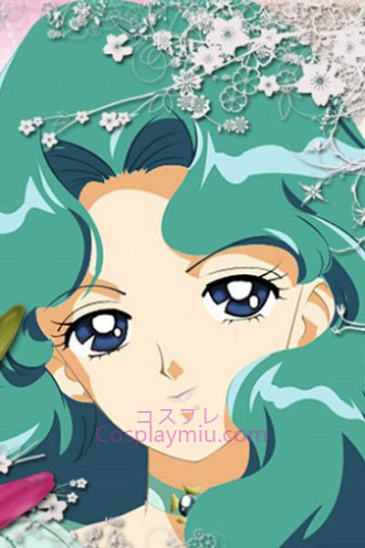 Sailor Moon Sailor Neptun Michiru Kaiou Cosplay Perücke